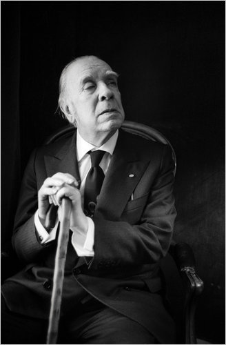 Borges in 1977