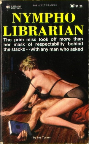 Librarian sex in the stacks